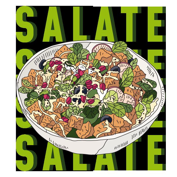 Falafelo-Salat